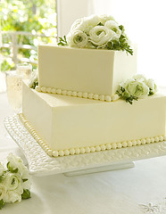 small square wedding cake pictures cakes 20221